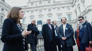Delegationsreise nach London mit Tarek Al-Wazir - Department Studios Frankfurt