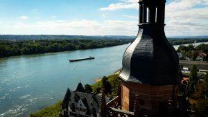 Eltville am Rhein - Luftaufnahme Videoproduktion Frankfurt